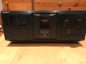 Sony mega CD storage player