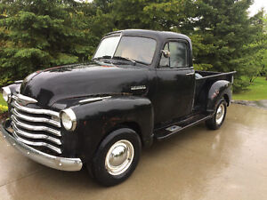 1951 Chevrolet Pickup For Sale. Restored Drivetrain & Wiring