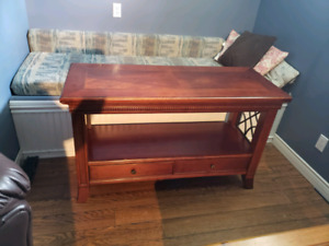 Sofa Table, Coffee Table and Two End Tables