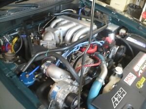 8000$  deal  95 Ford Mustang gt  cobra 302 supercharger 432hp