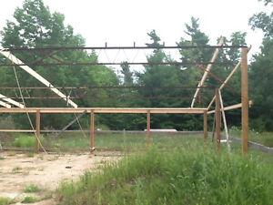 Open Web Steel Truss