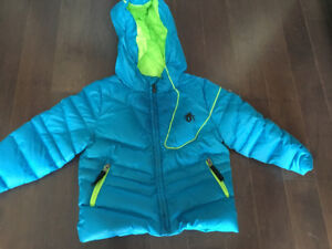 Sypder Down Jacket Size 2- Turquoise