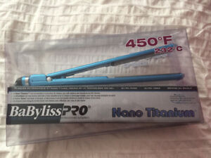 "Babyliss Pro Straightener 1"" BRAND NEW IN BOX"