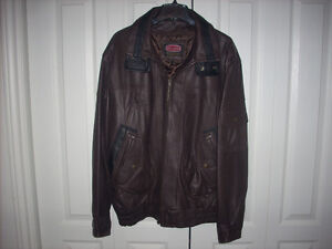AUTHENTIC MEN'S ALLARD J2X  LEATHER JACKET FOR SALE