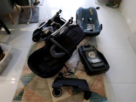 Maxi Cosi full pushchair travel system.