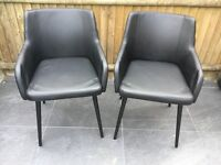 Black cocktail chairs