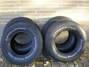 Set of 4 BFGoodrich Radial Long Trail T/A Truck Tires 265/70/16 Peterborough Peterborough Area image 1