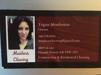 HOUSEKEEPER AVAILABLE FOR RESIDENTIAL CLEANING