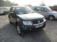 2008 Suzuki Grand Vitara 1.6 VVT 4WD BLACK. Only 47,000 miles.