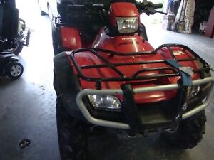 06Rubicon 500 GPS trail edition LOADED  LOW LOW KMS $5500.00