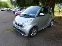 2013 SMART FORTWO COUPE PULSE MHD ** COLOUR NAVIGATION + £0 TAX ** COUPE PETROL