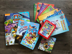 Lot PAW PATROL Baby Toddler Books - Paw Patrol with Reader
