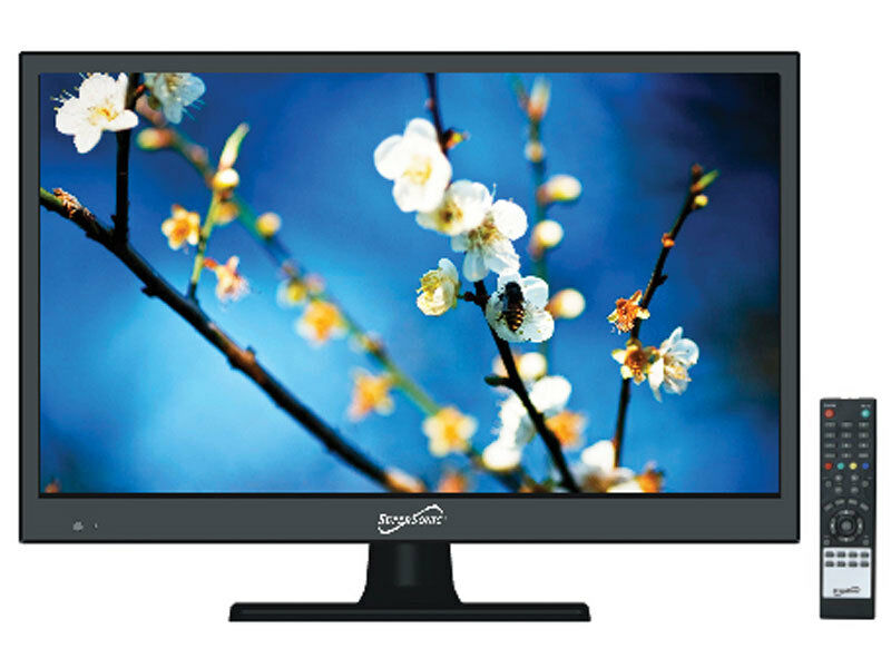 """SUPERSONIC SC-1511 15.4"""" Widescreen LED LCD HDTV +HDMI/USB Inputs"""