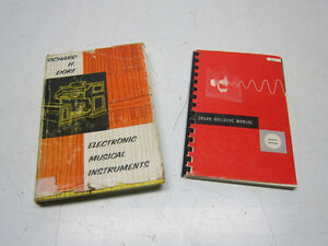 Pair of Books on Electronic Electric Organs