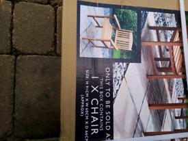 Brand New Jakarta Solid Wood Garden Chairs