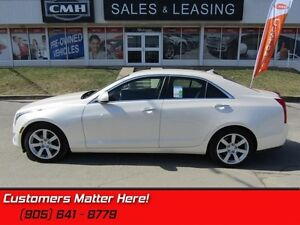 2014 Cadillac ATS 2.5   LEATHER, HTD SEATS, BLUETOOTH, CLIMATE C