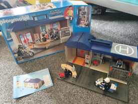Playmobil Police Station and accessories
