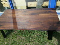 New Natural Live Edge Maple coffee table