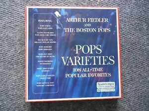ARTHUR FIEDLER & THE BOSTON POPS RECORD COLLECTION