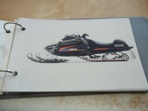 1995 YAMAHA SNOWMOBILE DEALER PHOTO MANUAL Kingston Kingston Area image 3