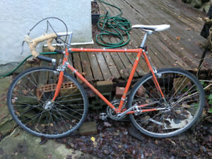 Orange 70's Road Bike (Good Condition) $175 obo