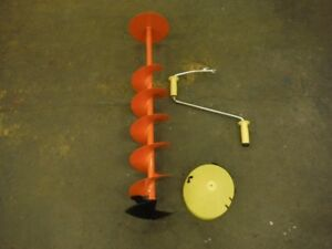 """8"""" ICE AUGER FOR SALE"""
