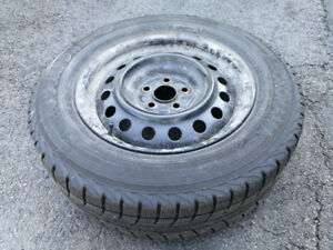 Set of 4 Winter tires AND rims 195/65R15
