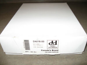 "1 package of Dye & Durham-8.5"" x11"" Will paper-500 pack"