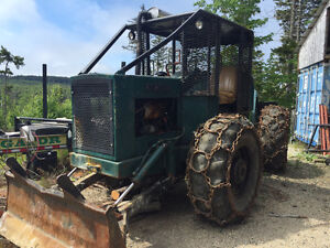 Franklin 130 cable skidder