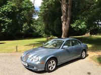 2001 Jaguar S-TYPE 3.0 Auto V6 SE 4 Door Saloon Blue