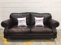 Real leather vintage Chesterfields sofas and chairs