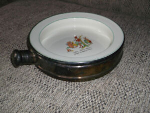 "ANTIQUE: ""PETER PIPER"" Collectible Baby/Child WARMING DISH"