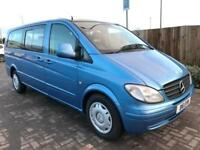 MERCEDES-BENZ VITO 2.1 111 CDI DIESEL TRAVELINER LONG (2005 05) 9 SEATER