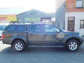 Nissan Navara 2.5dCi Tekna pick up with sat nav air con leather heated seats (54