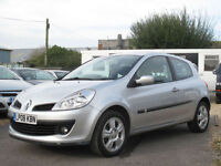 2008 RENAULT CLIO 1.5dCi Dynamique 3DR HATCH - £30 A YEAR ROAD TAX- 70+ MPG !!