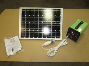 SOLAR 12 VOLT POWER SYSTEM FOR CABINS/ HUNTING PLUG AND PLAY