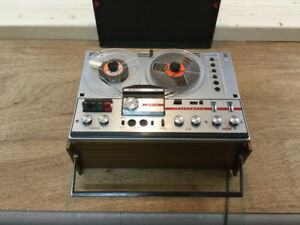 Telefunken Stereo Open Reel Tape Recorder and Player