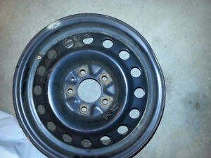 Four 15 in Steel Rims - used only one winter $90 OBO