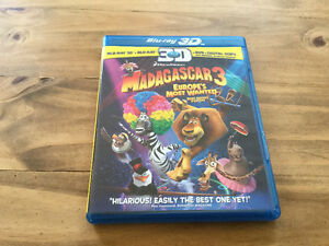Madagascar 3 3D Bluray Combo Set