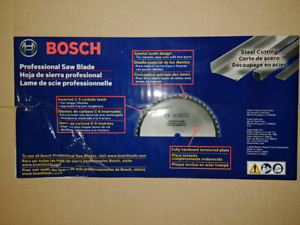 Bosch PRO1480ST 14-Inch 80T Steel Cut Precision Series Saw Blade