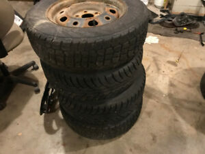 Tires and rims 205 70 15