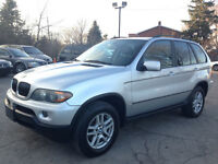 2004 BMW X5, NO ACCIDENT 3.0L, Leather, P sunroof,only 139km