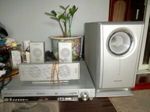 POWERFUL PANASONIC HOME THEATER SOUND SYSTEM 5 CD CHANGER IN FAN