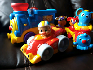 """On the Go"" baby toy lot"