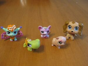 LITTLEST PET SHOP LOT #26 fairy mouse DOG COCKER SPANIEL #1318