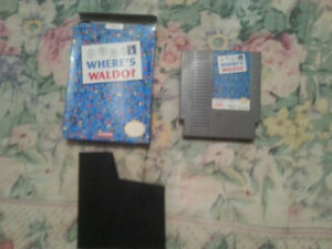 Where's Waldo (Nintendo Entertainment System, 1991) NES