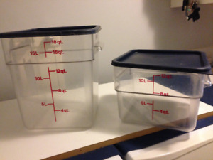 Cambro Containers