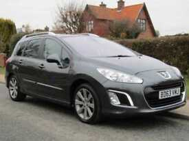 2013 Peugeot 308 1.6 e HDi 115 ACTIVE 5DR TURBO DIESEL ESTATE ** FULL HISTORY...