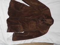 Extra small men's suede jacket