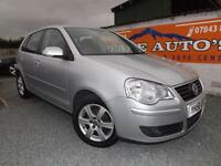 Volkswagen Polo 1.2 ( 70PS ) 2008MY Match petrol silver